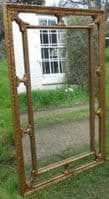 Regency Style Gilt Hanging Wall Mirror